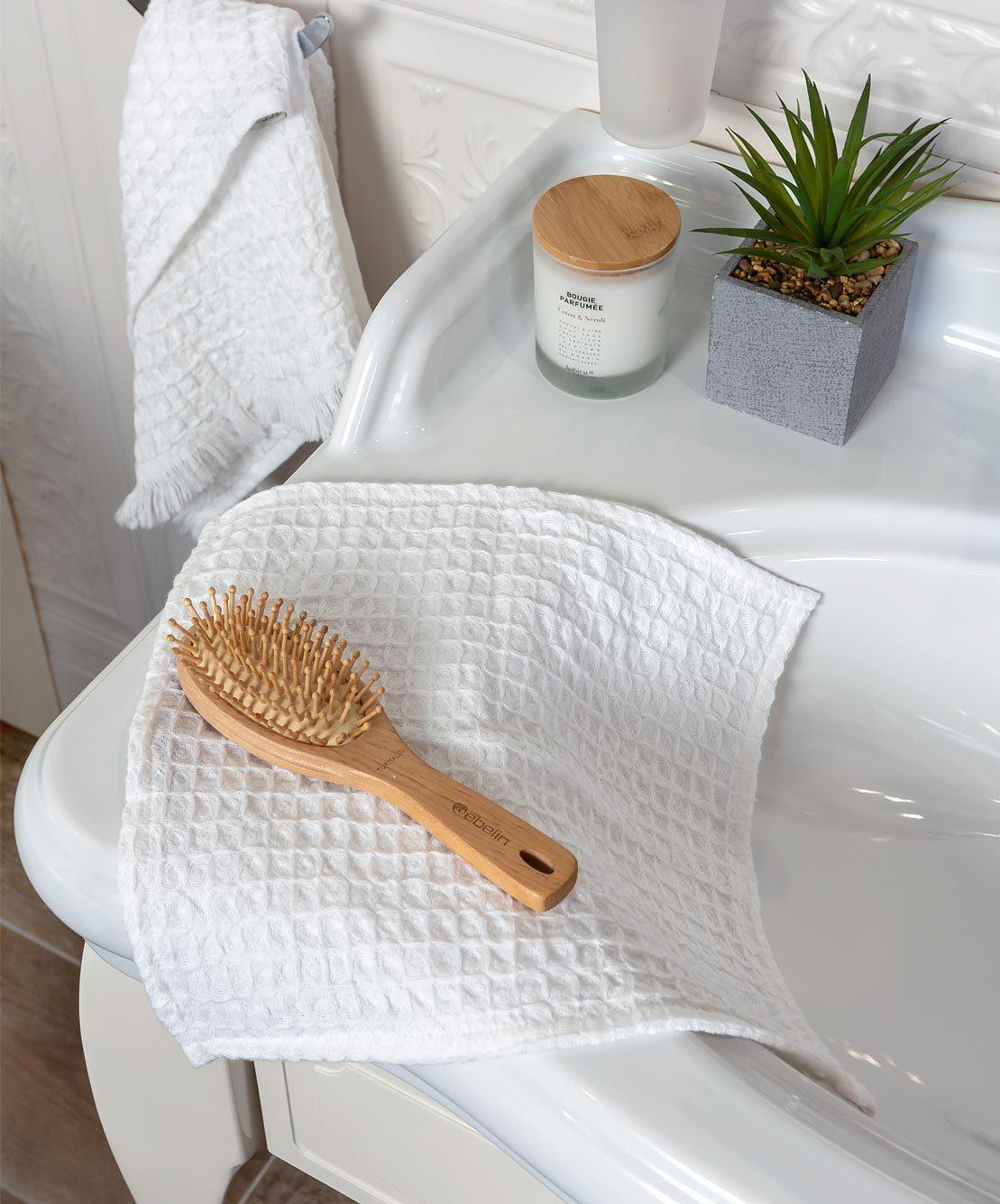 Полотенце для рук из ткани пике