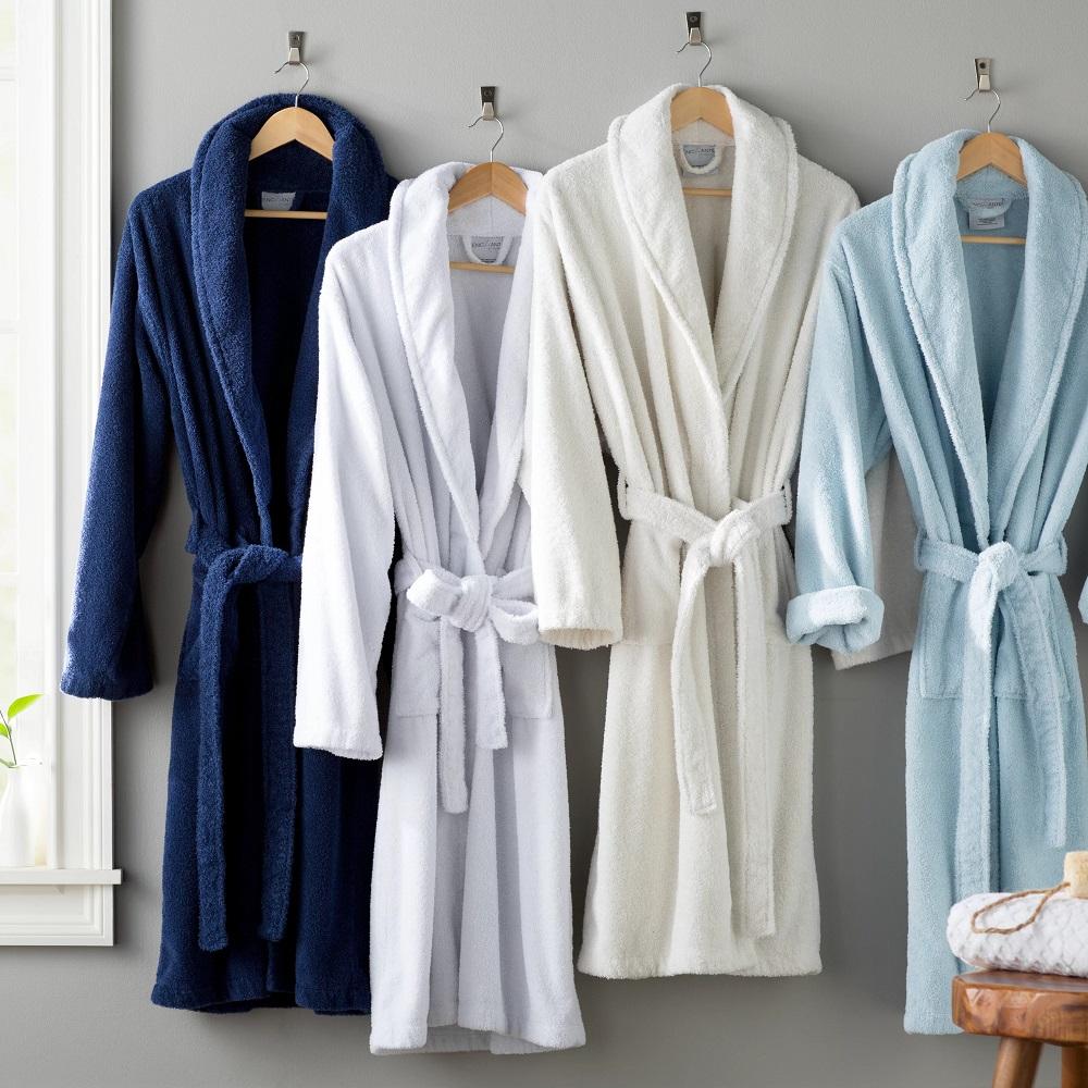 Халаты из махровой ткани