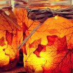 Осенние листья: простые идеи восхитительного декора для дома