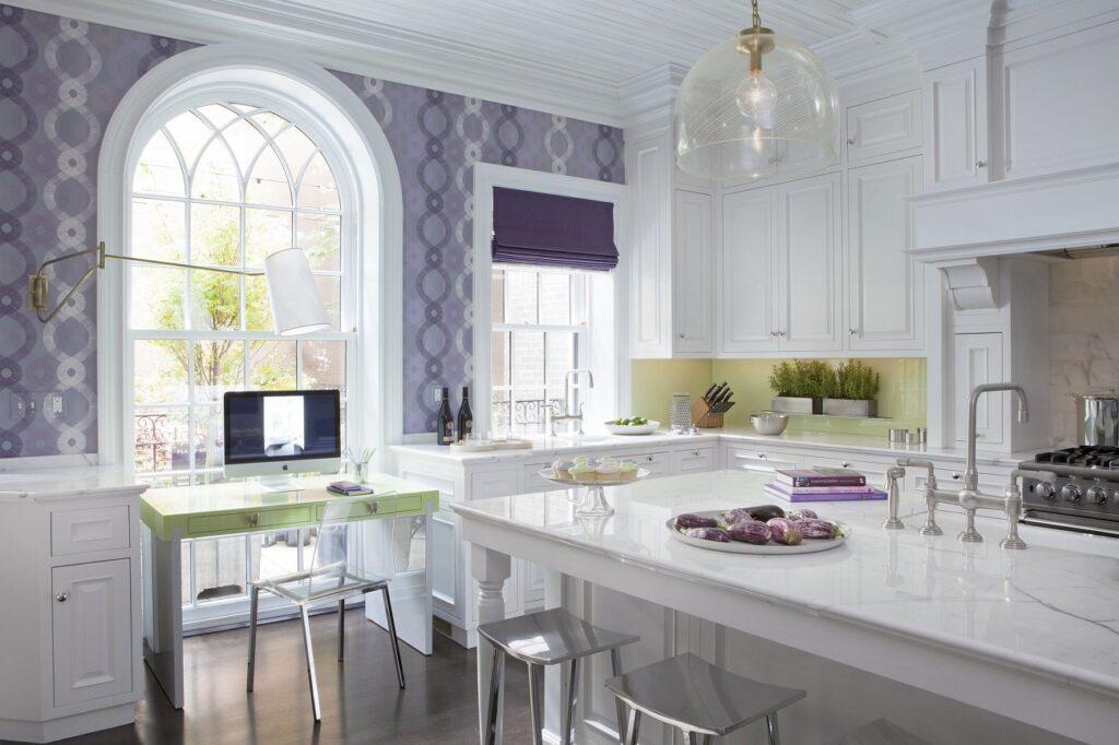 Обои для кухни — обычные или моющиеся