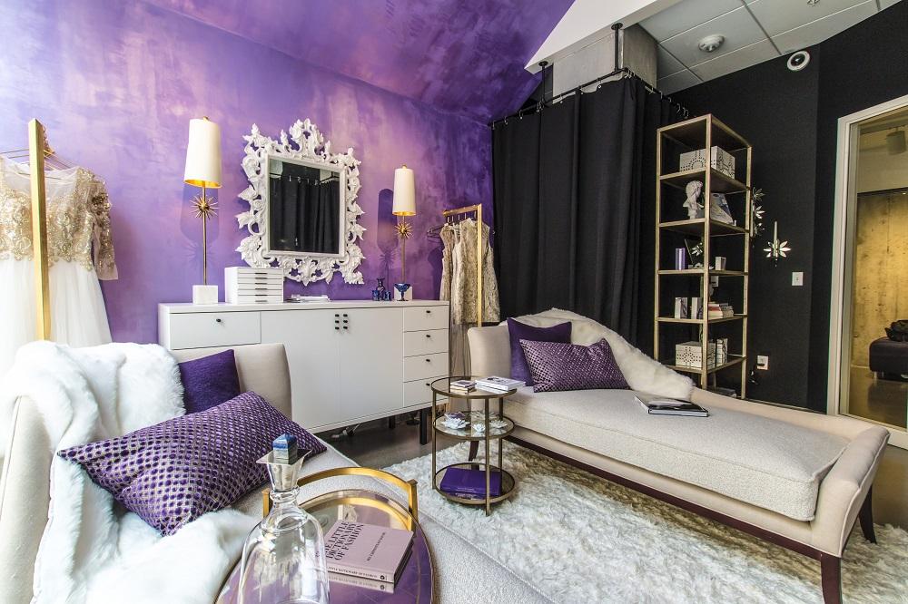 Пурпурный и цвет золота