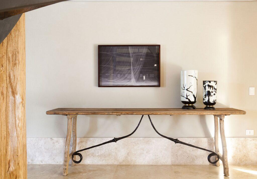 Консольный столик в стиле шебби-шик