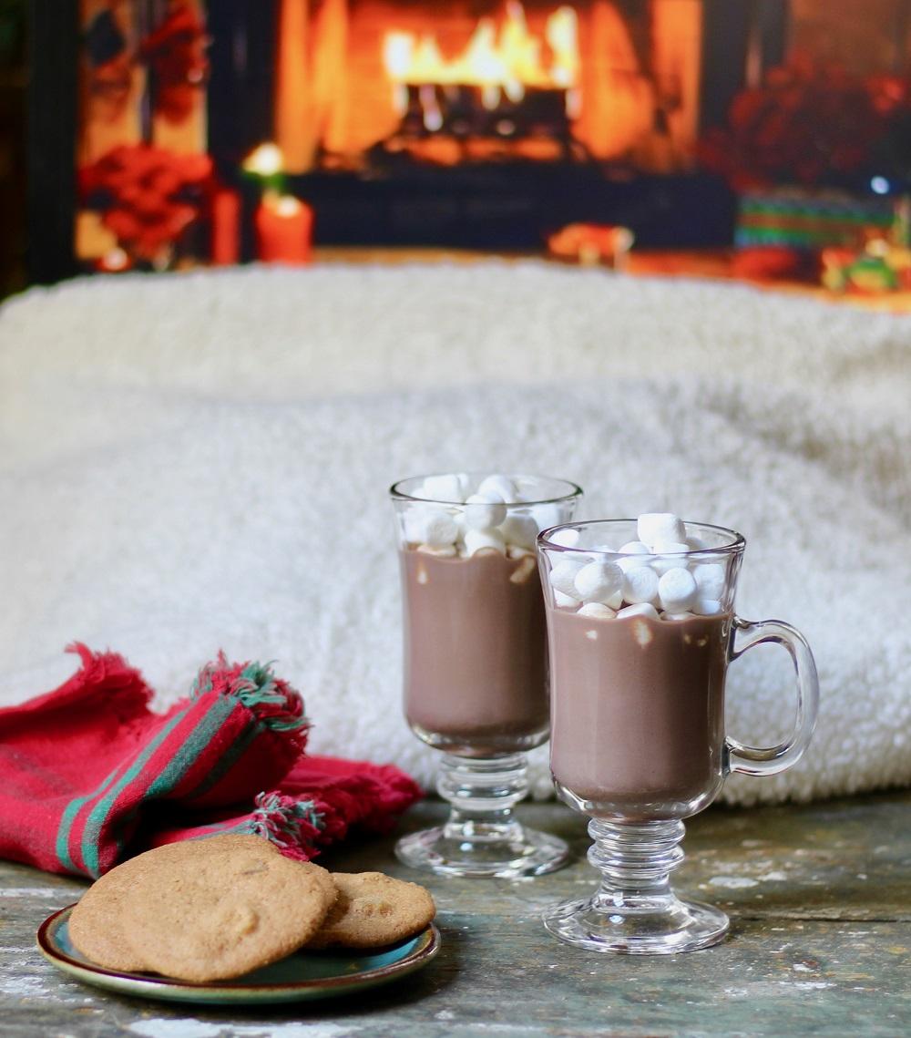 Шоколадный напиток с корицей