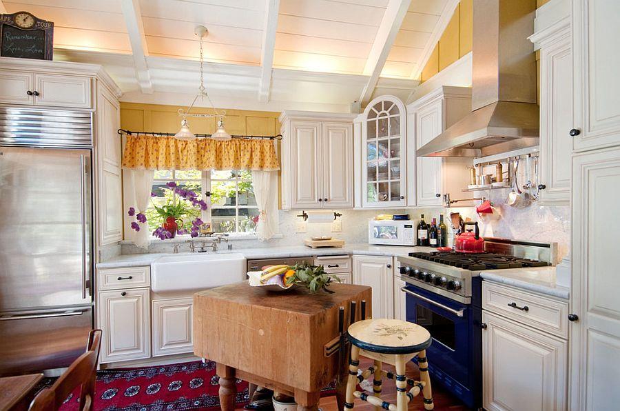 Маленькая кухня в стиле шебби-шик