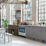 Элегантный стиль шебби-шик в интерьере кухни: 5 вариантов оформления