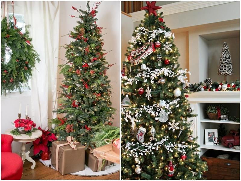 Красивые новогодние елки