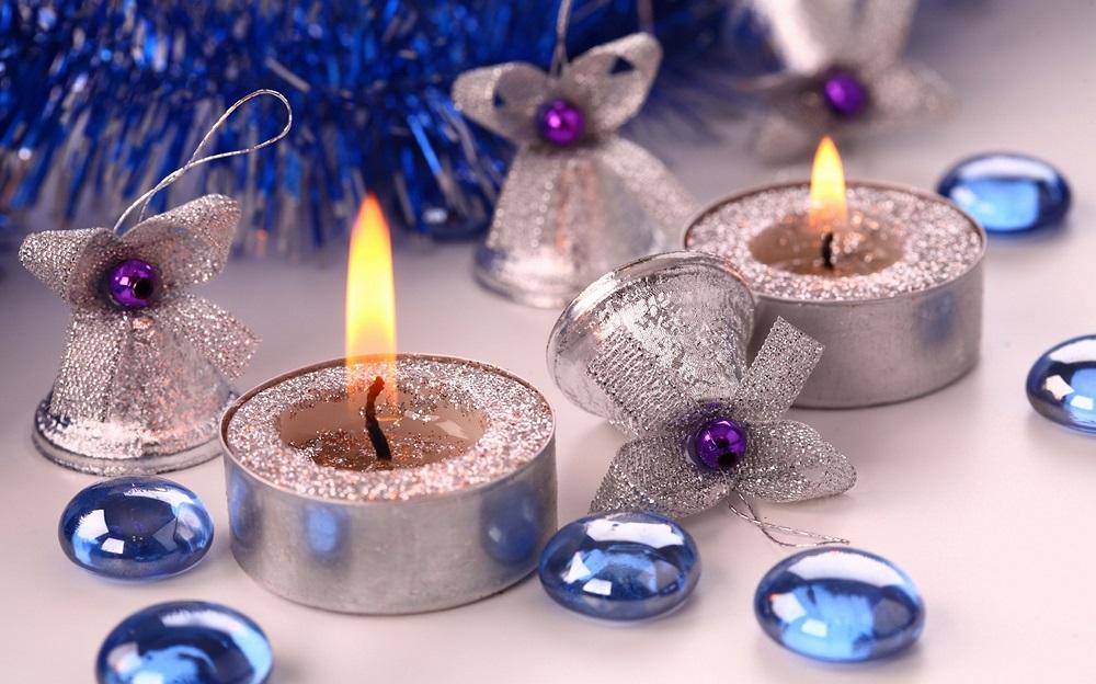 Предметы декора для новогоднего стола