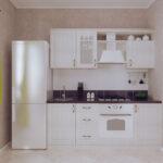 Как расположить кухню на 4 метрах?