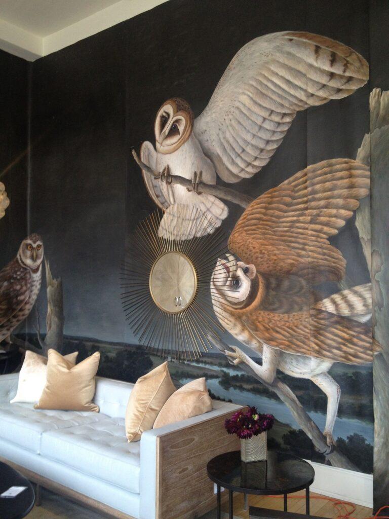 Образ совы  в интерьере квартиры