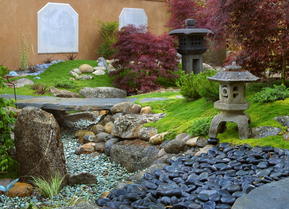 Ландшафтный дизайн сада, основные элементы