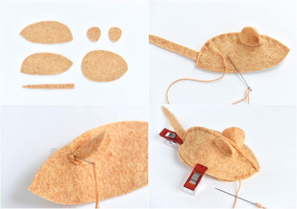 Этапы изготовления мягкой игрушки