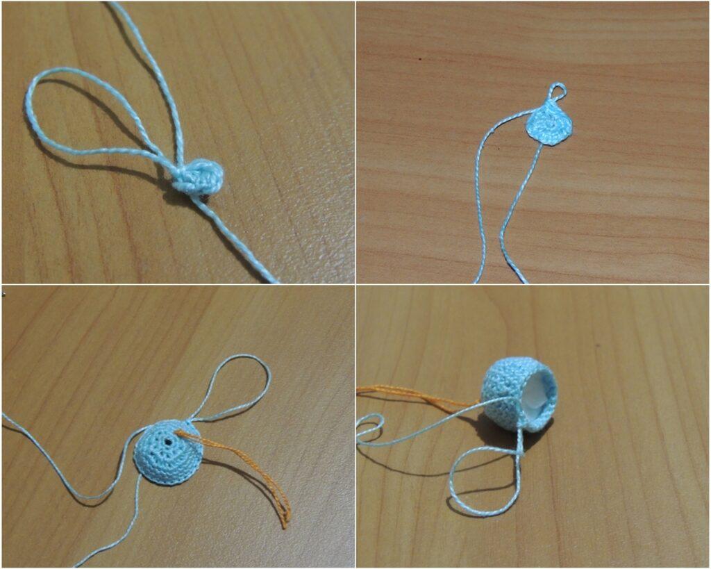 Как связать мышку-амигуруми