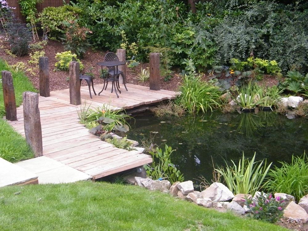 Сад,созданный по законам японского ландшафтного дизайна