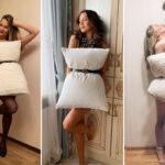 Подушки превращаются в платья – новый челлендж на карантине