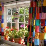 Как самостоятельно сшить новые шторы на кухню? 5 идей