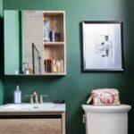 7 стильный вариантов, как использовать зеленый цвет в дизайне ванной