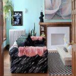 Винтажная бохо квартира для тех, кто мечтал жить в домике Барби