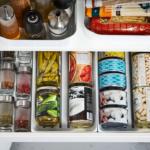 Как я своими руками организовала порядок в кухонных шкафчиках без коробок и каких-либо вложений?