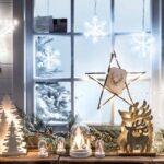 5 необычных идей декорирования окна к новому году
