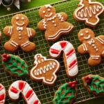 Рецепт невероятного рождественского печенья с глазурью!