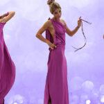 Новогоднее платье за 10 минут без единого шва