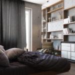 6 идей, как разместить кровать в маленькой квартире