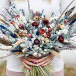 Интересные поделки из цветов-сухоцветов. 10 идей