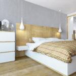 Идеи и советы как обустроить спальню квадратной, прямоугольной и трапецевидной формы (со скошенной стеной)