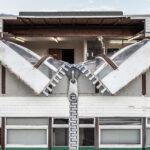 Архитектурная магия: как художник разрушает здания