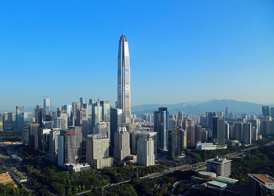 Международный финансовый центр в Шеньчжене