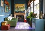 Самые необычные цвета стен в интерьерах