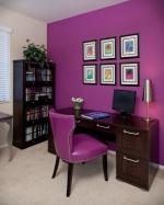 Интерьер в фиолетовых тонах