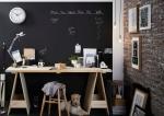 Плюсы и минусы грифельной стены в интерьере: выбираем декор правильно