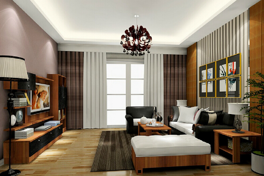 графический дизайн в интерьере комнаты