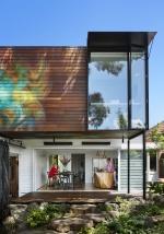 Австралийская семья построила современный домашний офис над своим столетним домом