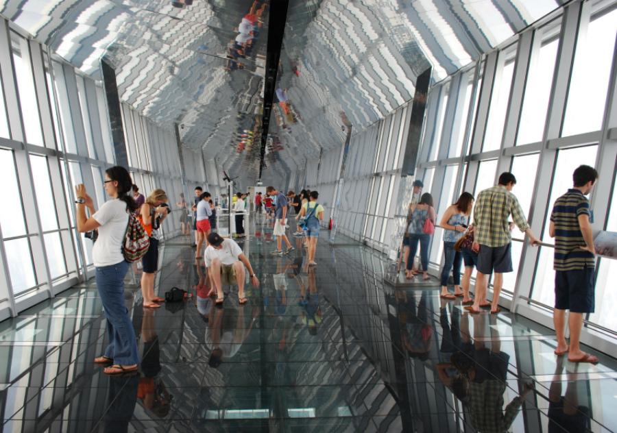 Всемирный финансовый центр небоскреб