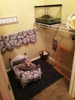 Студентка обустроила спальню для своей собаки прямо в шкафу!