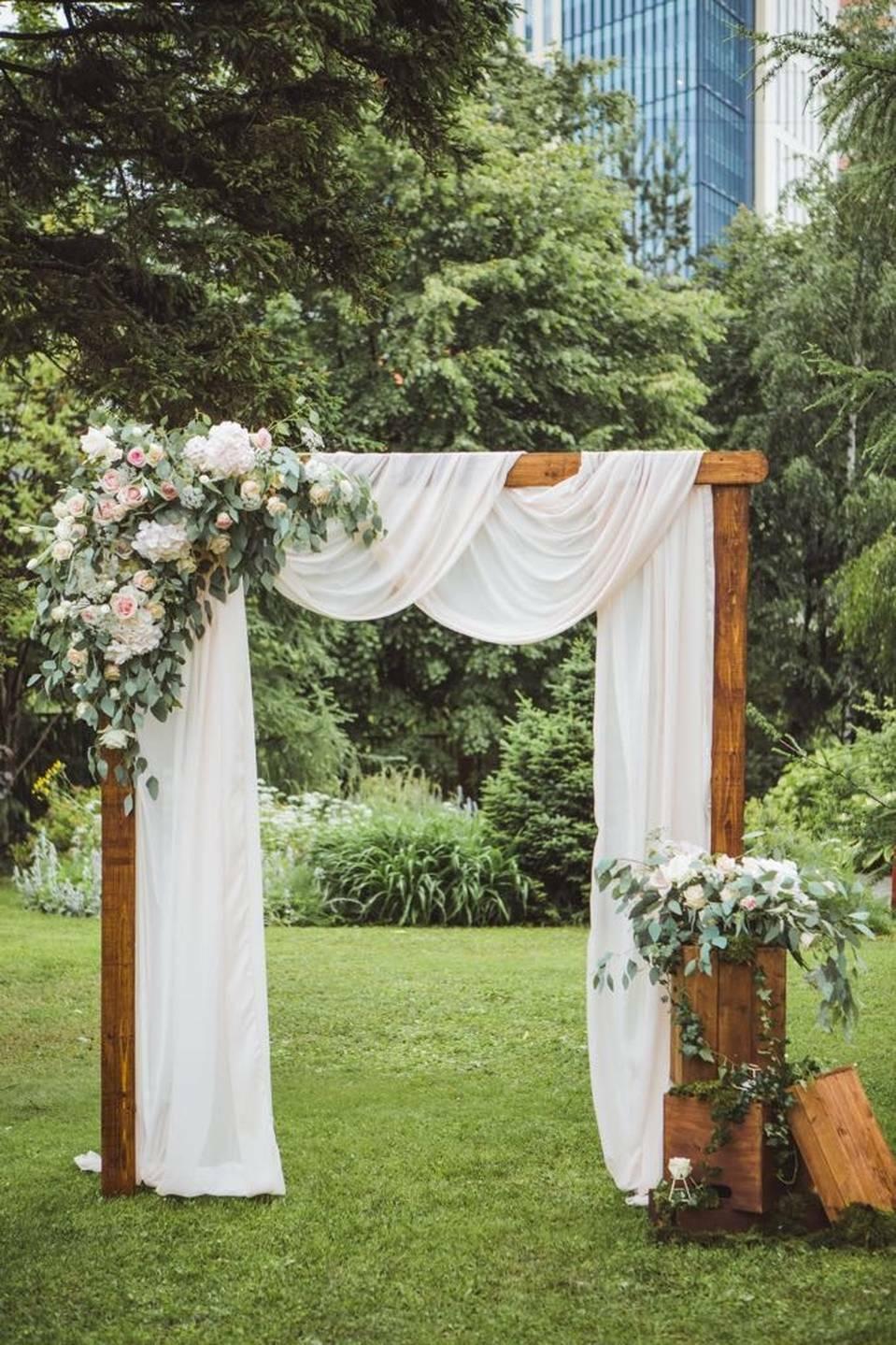 загородный дом — идеальное место для свадьбы в стиле рустик