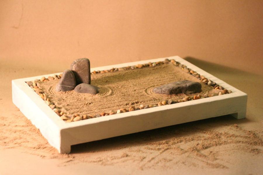 мини сад камней