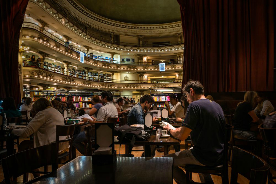 книжный в Агентине