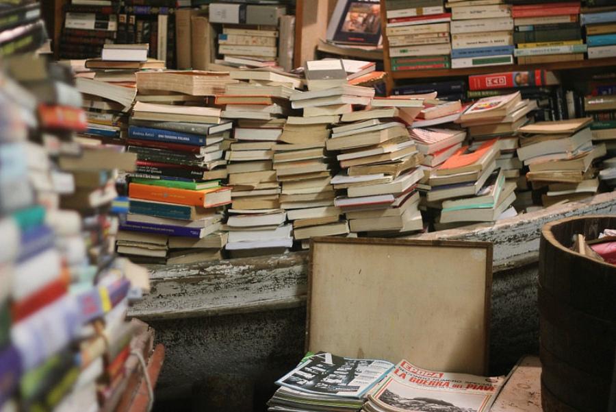 книжный магазин Libreria Acqua Alta
