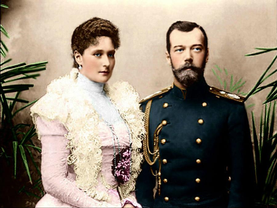Николай II и принцесса Алиса