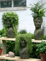 Новая мода среди дачников! Садовые прически из разных растений