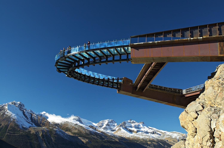 Смотровая площадка Glacier Skywalk, Национальный парк Джаспер, Канада