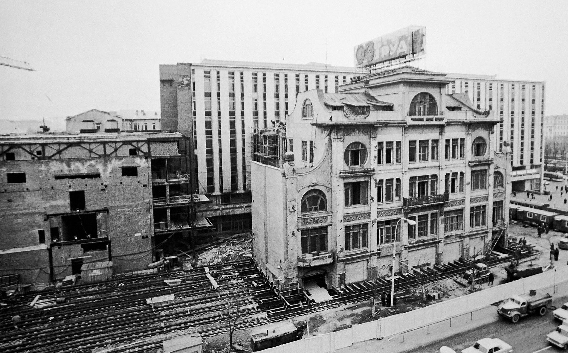 Реконструкция в Москве