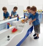 Как должна выглядеть детская ванная комната