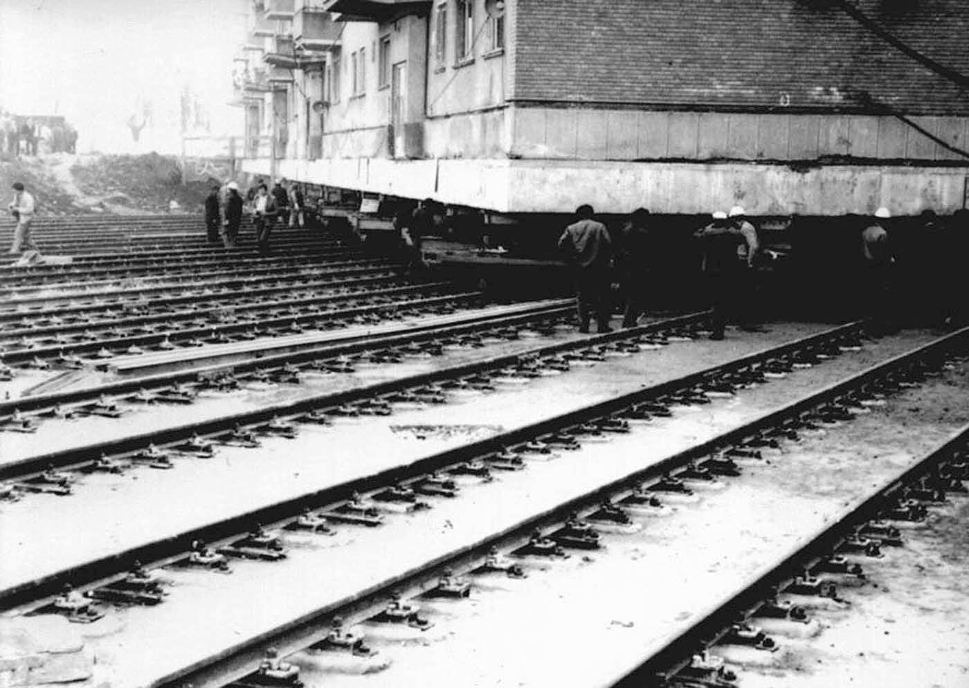 Реконструкция в Москве на рельсах