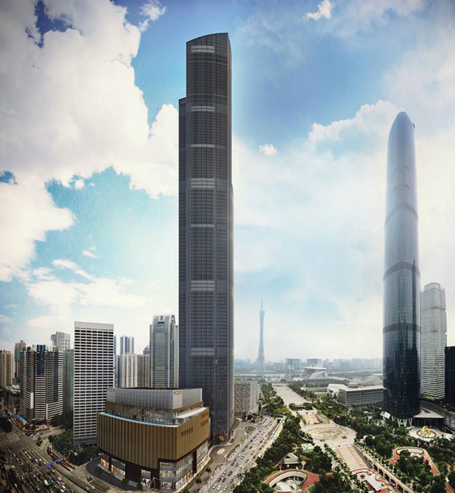 Финансовый центр в Китае