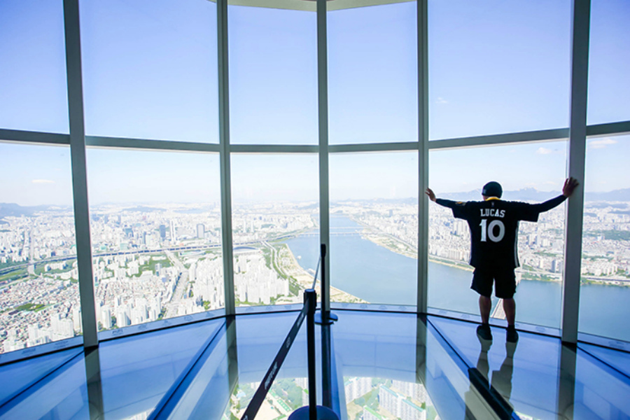 Lotte World Tower небоскреб