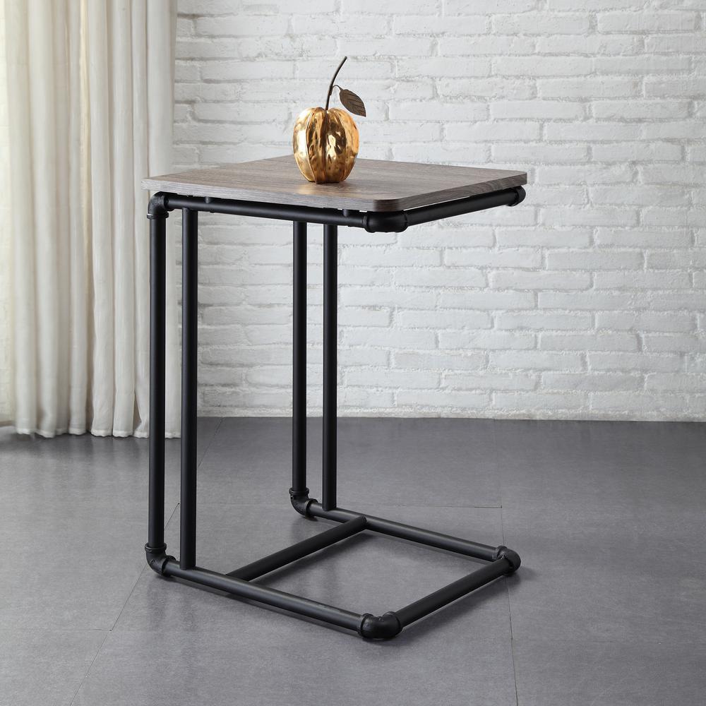 боковой стол из металла